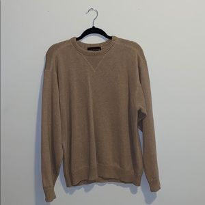 Brown, oversized sweater